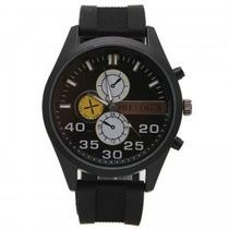 Relógio Analógico Esportivo(exemplo Da Foto Com Visor Preto)