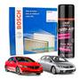 Filtro Cabine Ar Condicionado New Civic 2007 - 2015 + Spray Higienizador Original
