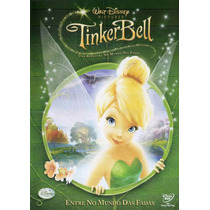 Dvd Tinker Bell - Uma Aventura No Mundo Das Fadas