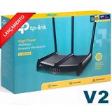 Roteador Wireless Quebra Parede Tl Wr 941hp 1000mw Ant 8dbi