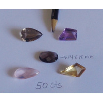 5 Pedras Preciosas Ametista Citrino Quartzo Rosa E Fume