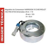 Bobina Magnetico Do Compressor Harisson V5 Gm Corsa / Vectra
