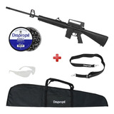 Espingarda Chumbinho Rifle Rossi M-16 5.5mm + Kit Completo