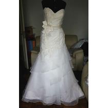 Vestido De Noiva Casablanca Bridal Ref 2043 - Pronta Entrega