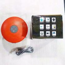 Caixa De Som Portátil Bluetooth Com Cabo Redonda Bt806 Nova