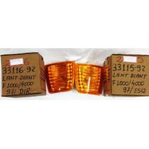 Lanterna Seta Dianteira Dir/esq F1000 F4000 97/ Ambar Unit