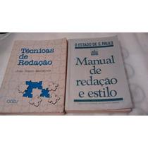 Livros: Manual E Técnicas De Redação