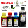 1350ml -kit Tinta Recarga Cartuchos Impressora Hp + Snap<br><strong class='ch-price reputation-tooltip-price'>R$ 59<sup>99</sup></strong>