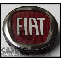 Calotinha Calota Miolo Roda Fiat 49mm Grand Siena 2014- 1 Pç