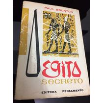 Livro Egito Secreto - Paul Brunton - Editora Pensamento
