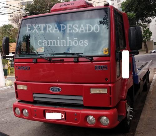FORD CARGO 815 GUINCHO PLATAFORMA 6MTS COM ASA - BAIXO KM