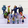 Bonecos Zootopia Kit Com 12 Miniaturas Do Filme