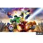 Lego Heroes Painel 2,00x1,00 Lona Festa Aniversario Decoraçã