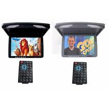 Tela Teto 15.4 Com Tv Usb Sd Card Tela Retratil Lcd
