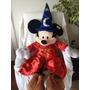 Mickey Mouse Feiticeiro Pelucia Gigante Disney Parks 1.45 Cm