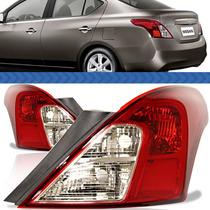 Lanterna Traseira Nissan Versa 2014 2013 2012 2011 Bicolor
