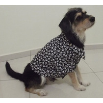 Roupa Cachorro Totopet Shih Tzu Poodle Yorkshire Lhasa Apso