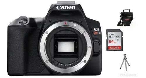 Canon Eos Sl3 Corpo - 24.1 Mp+64gb+bolsa+tripé