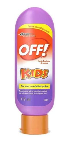 Off Loção Kids Repelente De Insetos 117ml