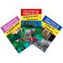 Livros Universidade Minecraft Coleção Completa Batalha Zumbi
