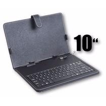 Capa Case De Couro Com Teclado Usb Tablet 10 Polegadas