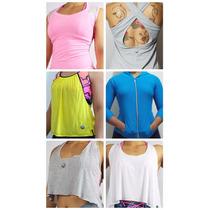 Kit 3 Regatas Feminino Esporte La Eduzione Fitness Lsfit