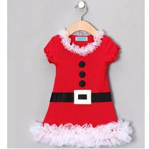 Vestido Infantil De Natal