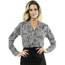 Camisa Fashion Arabescos Florais Principessa Elisabeth