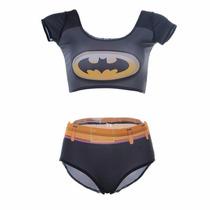 Fantasia Feminina Super Herói Batman Batgirl Frete Grátis!!!