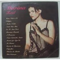 Lp Marina Lima - Total - 1994