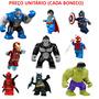 Minifigures Compatíveis C/ Lego Super Heroes Marvel Bkbff1