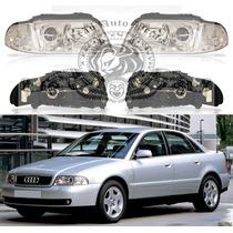 Farol Audi A4 De 1999/2000 Aplicável Ano 1995/1998 Novo Esq.