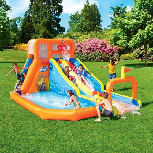 Mega Parque Aquático Inflável Tsunami Playground - Bestway