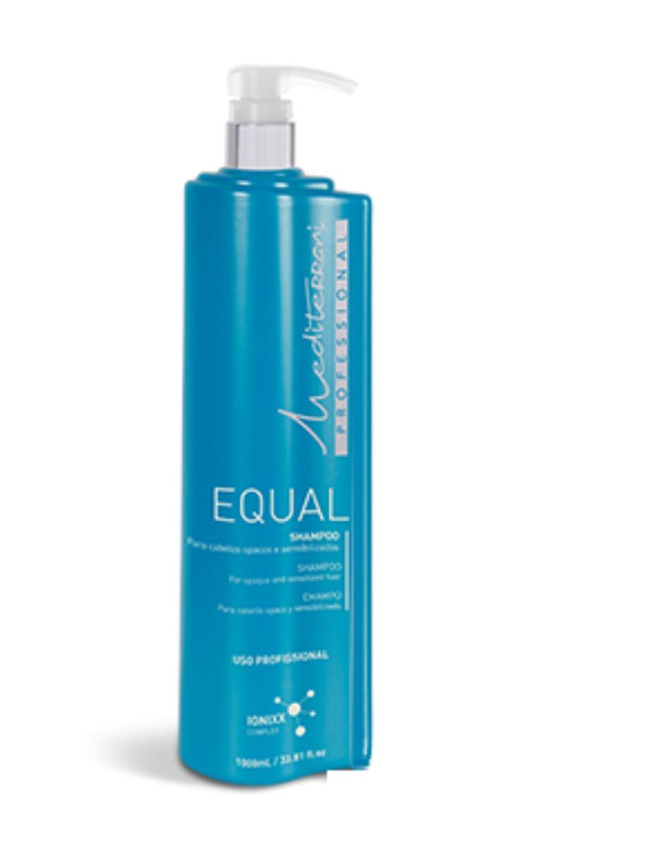 Equal Shampoo  Preparatório   Mediterrani  1L
