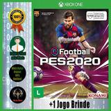 Pes 20 Xbox One Mídia Digital +1 Jogo Brinde