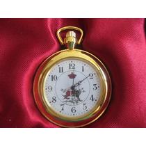 A9966 Relógio De Bolso Da Coleção The Pocket Watch. Novo. Me