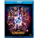 Blu-ray Vingadores - Guerra Infinita - Lacrado & Original