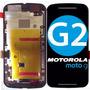 Tela Display Lcd Touch Motorola Moto G2 Xt1069   Brinde