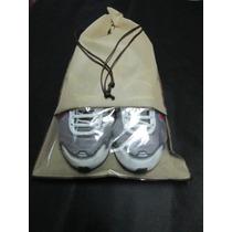 Sacos Para Sapatos Em Tnt Com Visor - Kit C/ 10 Unidades