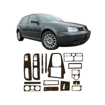 Kit Painel Madeira Vw Golf 1999 A 2007 Painelkit