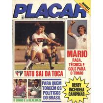 Placar Nº 586 De 07.08.1981 Com Pôster Do Grêmio Maringá/pr