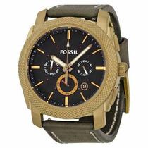 Relógio Esportivo Fossil Pulseira Couro Completo Original