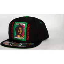 Boné Snapback One Love Bob Marley