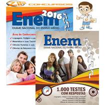 Apostila Enem 2016 + 1000 Testes Com Resposta - Atualizada!
