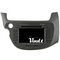 Central Multimidia Fit Honda New Fit Dvd Gps Tv Digital
