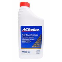 Oleo De Motor Ac Delco 5w30 Sn Semissitético Cód.98550193