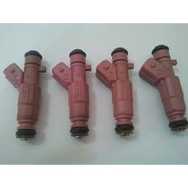 4 Bicos Injetor Celta Corsa Vhc 1.0 8v Flex 0280156298 Bosch