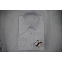 Camisa Social Masculina Sergio K , Cor Branco