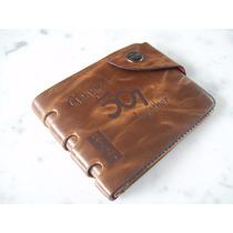 Carteira De Bolso Masculina Bailini Couro - Genuine Leather