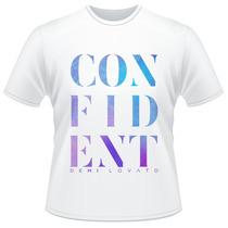 Camiseta Demi Lovato Confident Camisa